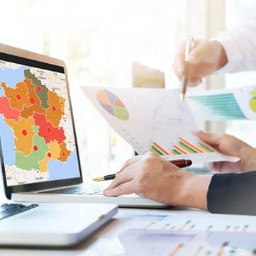 Optimisez vos plans d'action et pilotez votre activité grâce à la dimension géographique