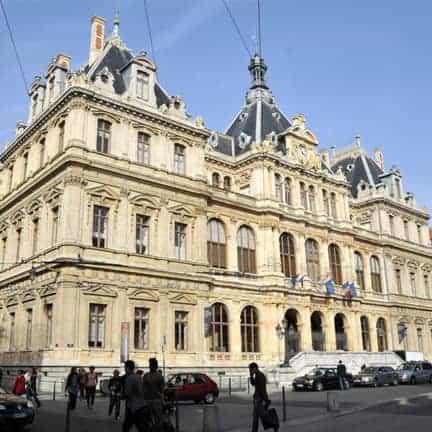Lyon palais de la bourse